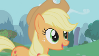Applejack &quot;I completely understand&quot; S1E04