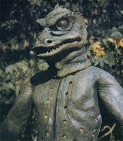 Gorn without costume