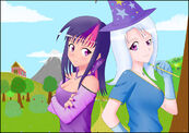 Human twilight and trixie