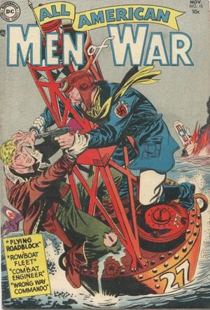 Cover for All-American Men of War #15