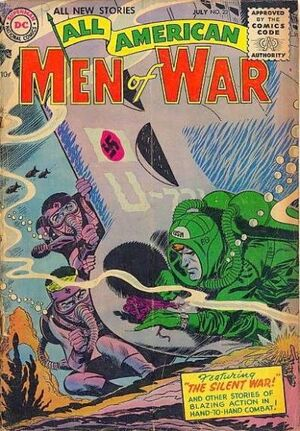 Cover for All-American Men of War #23