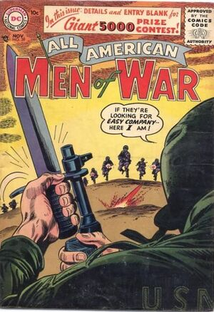 Cover for All-American Men of War #39