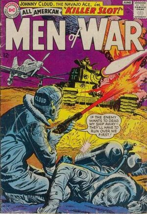 Cover for All-American Men of War #109