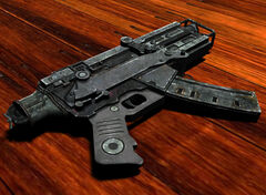 10mm submachine gun