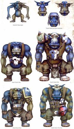 Death Skulls Updated
