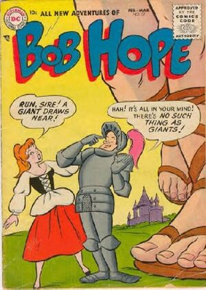 Cover for Adventures of Bob Hope #37