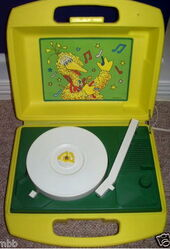 Daylin sesame record player 1983 a