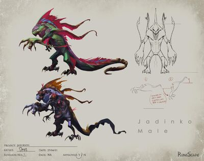 Jadinko concept art