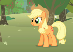 250px-Applejack_bucking_apples_S1E12.png