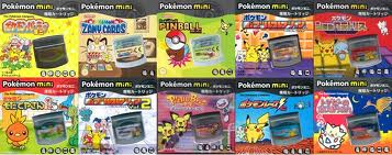 Pokemon Mini Cartridges Japan