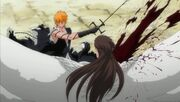 Bleach-308-Ichigo-slices-Aizen