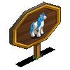 Blue Mane Gypsy Horse Mastery Sign-icon