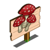 Red Toadstool Mastery Sign-icon