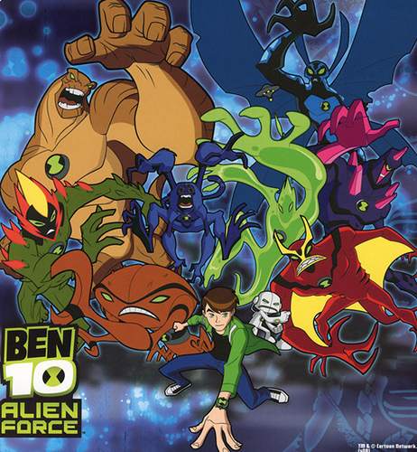 Ben Alien Force