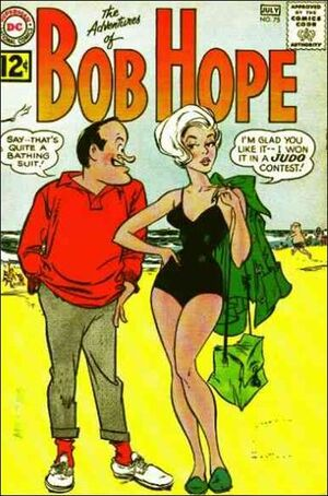 Cover for Adventures of Bob Hope #75