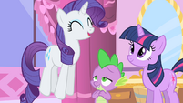 Rarity jumping S1E20