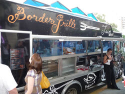 BorderGrill truck artwalk