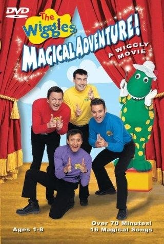 The wiggles magical adventure a wiggly movie dvd cover