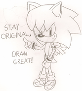 Stay Original, Draw Great.