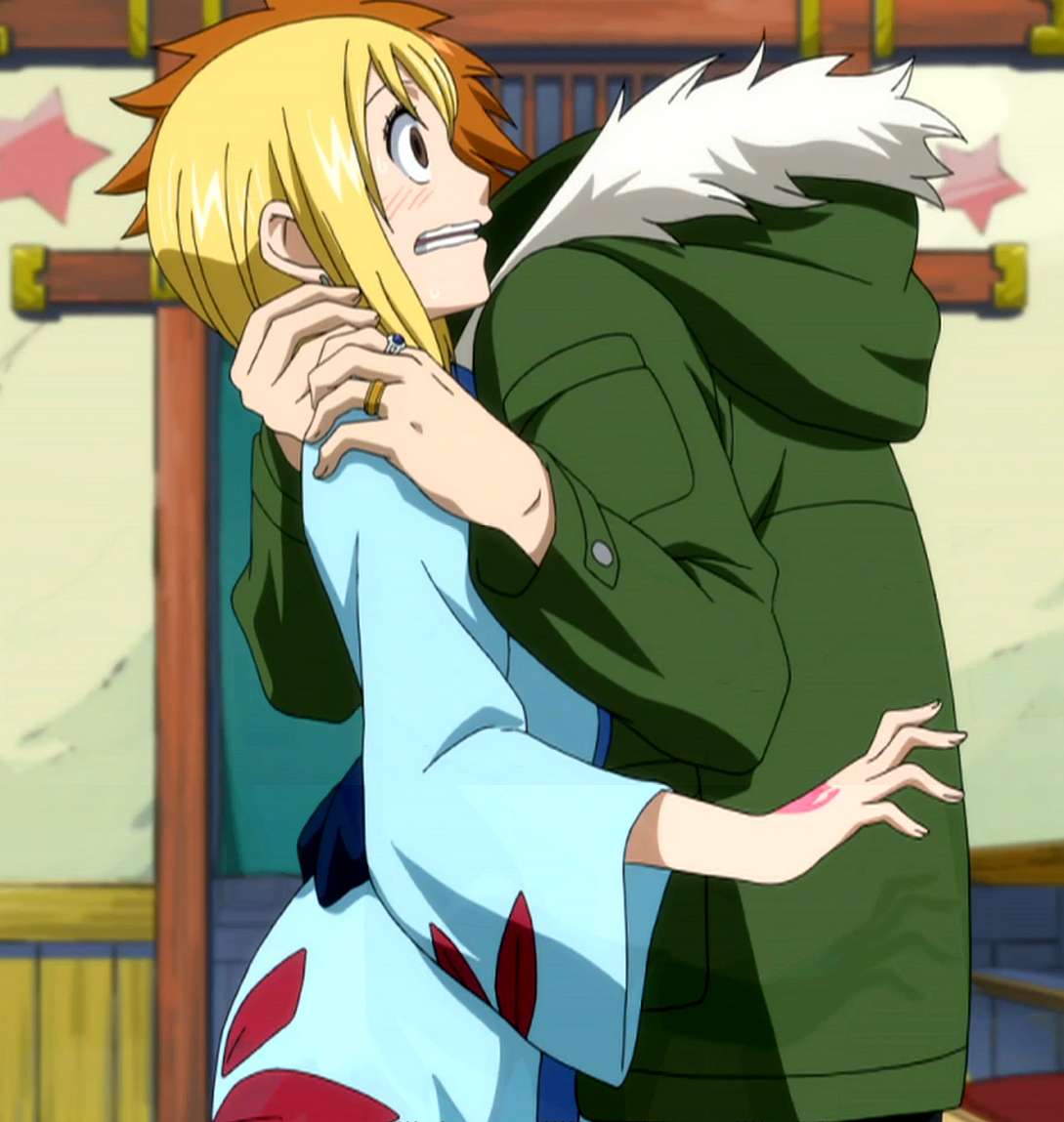 Loke  amp  LucyFairy Tail Lucy And Loke Kiss
