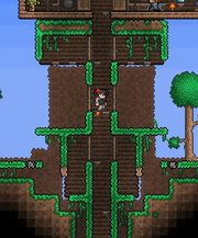Terraria My Base Defenses