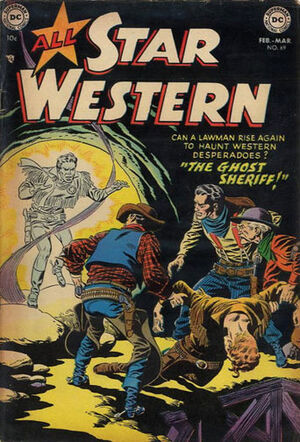 Cover for All-Star Western #69