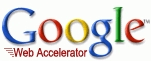 Google web accelerator logo 2005