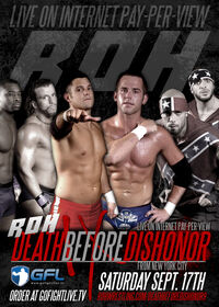 RoH Death Before Dishonor IX Poster