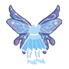 Fairy Dress (Blue)-icon