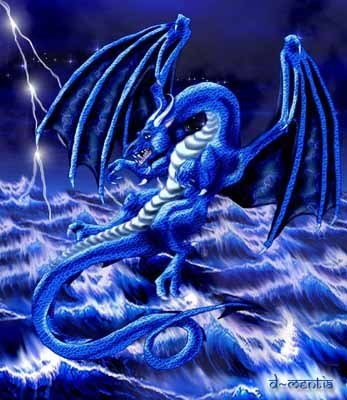 If I were a dragon ... I would look like this .. - Page 3 Blue_dragon