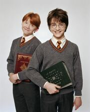 PromoHP1 Harry Potter et Ron Weasley