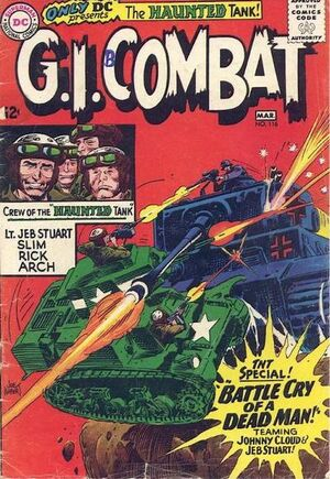 Cover for G.I. Combat #116