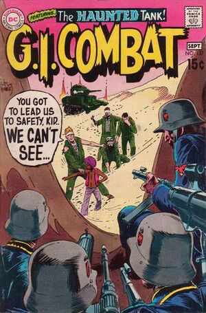 Cover for G.I. Combat #137