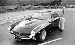 Steve mcqueen 1963 ferrari