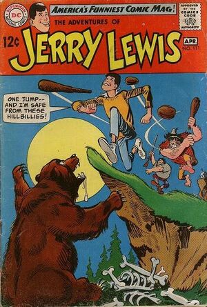 Cover for Adventures of Jerry Lewis #111
