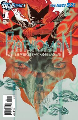 Batwoman Vol 1-1 Cover-1
