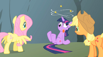 Twilight dizzy Applejack Fluttershy S1E15