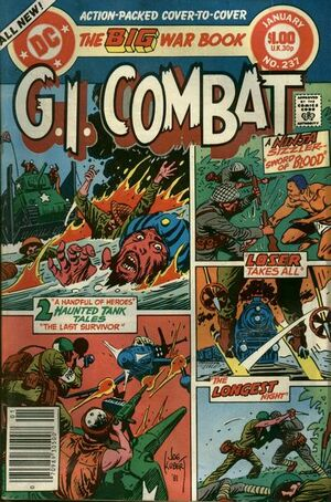 Cover for G.I. Combat #237