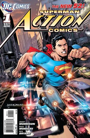 Cover for Action Comics #1