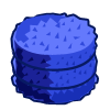 Blue Round Hay-icon