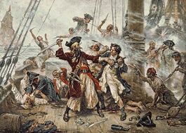 Capture of Blackbeard