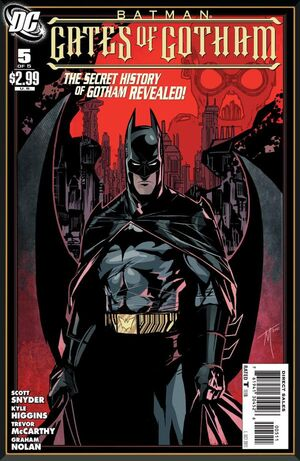 Cover for Batman: Gates of Gotham #5