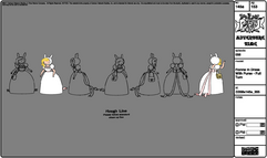 Modelsheet fionna indress withpurse - fullturn