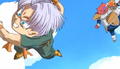 Goten trunks beat up by ado kado9