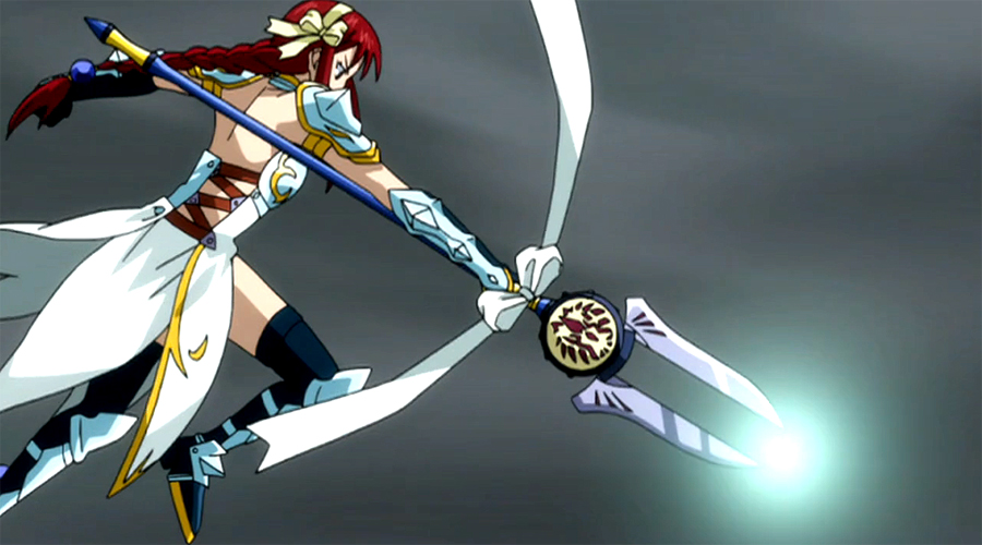 Fairy Tail Erza Sea Empress Armor Sea empress Armor or Thunder