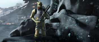 Bossk on Vanqor