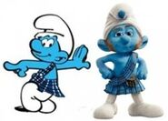 Gutsy Smurf Movie
