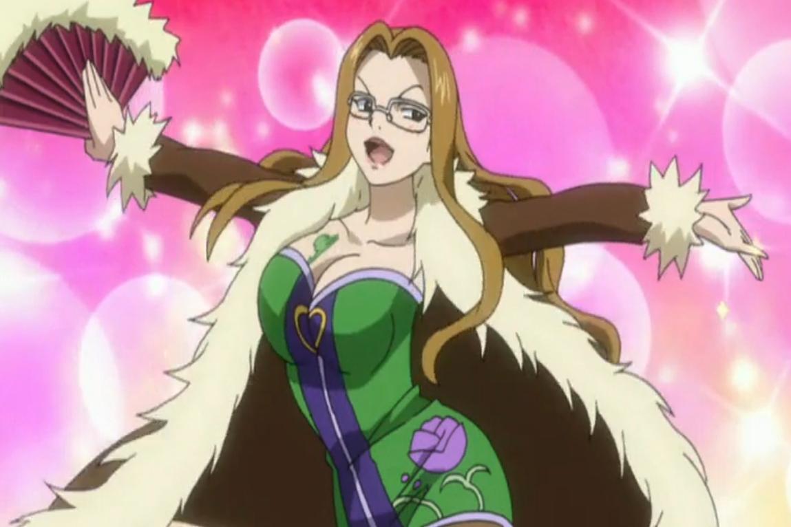 fairy tail fantasy anime evergreen anime fairy tail