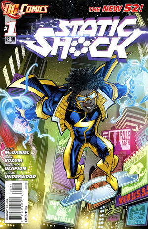 Cover for Static Shock #1