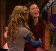 Underarms Tickle http://icarly.wikia.com/wiki/Cam_Friendship